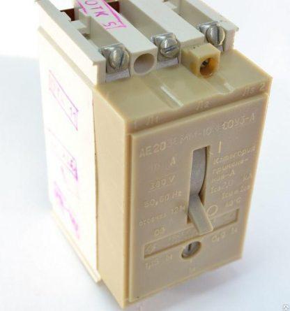 Автоматический выключатель АЕ 2033 М-100