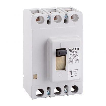 Автоматический выключатель ВА 04-36