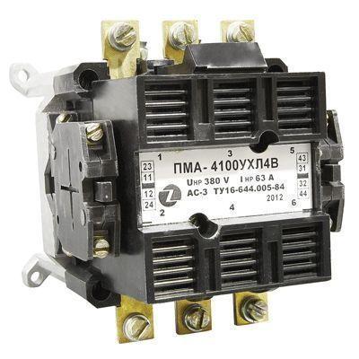 Пускатели электромагнитные ПМА 4100